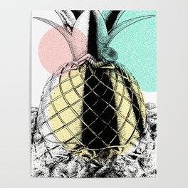 Chillin Pineapple Poster