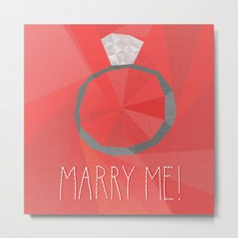Arrested Development - Marry me! Metal Print