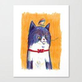 Miau Cat Canvas Print