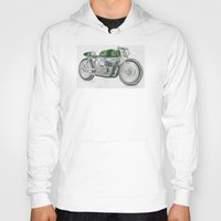 motorbike Hoodies featuring MOTORBIKE by EDENLAND