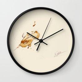 #coffeemonsters 500 Wall Clock