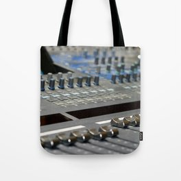 Mixing Console Tote Bag