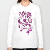 dangan ronpa Long Sleeve T-shirts featuring Hope's Peak Academy by Blue