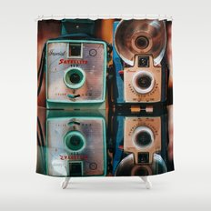 Mintage Shower Curtain