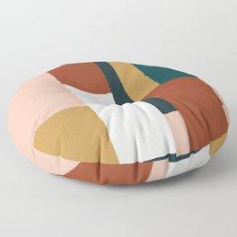 Spring Color Block Floor Pillow