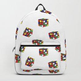 Rubik's Pattern Backpack