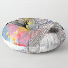 angel male nude Floor Pillow