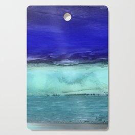 Midnight Waves Seascape Cutting Board