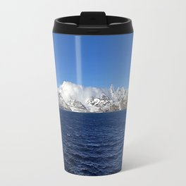 Antarctic Mountain Range Travel Mug