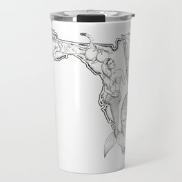 Florida Mermaid Travel Mug