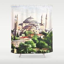 Istanbul Turkey Hagia Sophia Shower Curtain