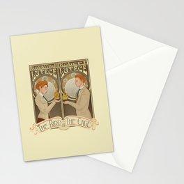 Lutece Twins Nouveau Stationery Cards
