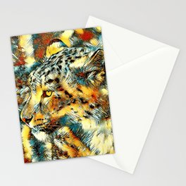 AnimalArt_Leopard_20170606_by_JAMColorsSpecial Stationery Cards