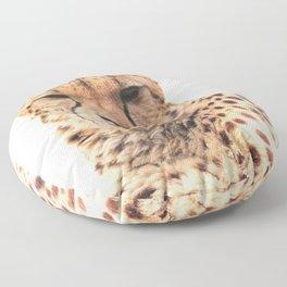 Cheetah Close-Up Floor Pillow