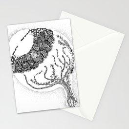 Anatomy Series: Eyeball Floweres Stationery Cards