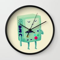 games Wall Clocks featuring Who Wants To Play Video Games? by Nan Lawson