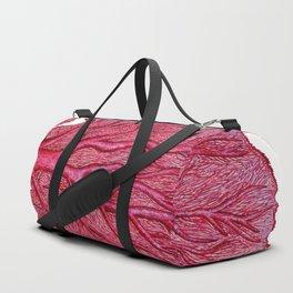 Venus red sea fan coral Duffle Bag