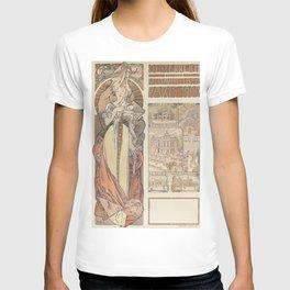 Alfons Mucha Österreich T-shirt