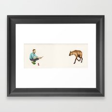 You Can Ask What It Is, But There Will Be No Answer. Framed Art Print