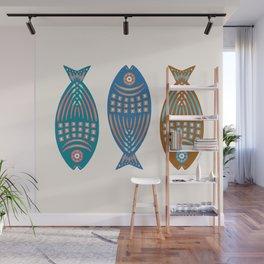 3 Fish   Multi Wall Mural