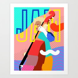 JAM Art Print