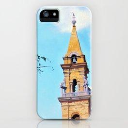 Piazza Santo Spirito iPhone Case