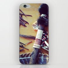Feathers, Leather and Beads iPhone & iPod Skin