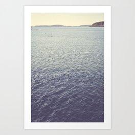 September Seas Art Print