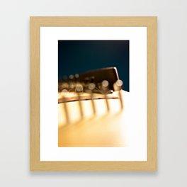 Kirjokansi kantele Framed Art Print