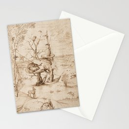 Hieronymus Bosch - The Tree-Man Stationery Cards