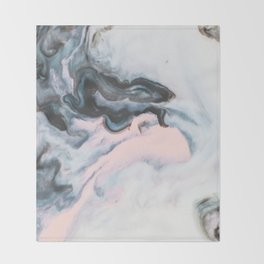 Modern marble 01-1 Throw Blanket
