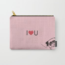 I LOVE UR PUG Carry-All Pouch
