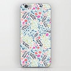 Teeny Tiny Floral iPhone & iPod Skin