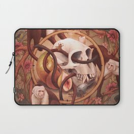 Capuchin Vanitas Laptop Sleeve
