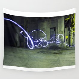 Light tag Wall Tapestry