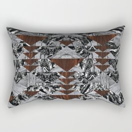 Wood Galaxy Rectangular Pillow