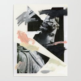 Untitled (Painted Composition 3) Poster