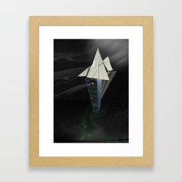 Ark of the Anthropocene Framed Art Print