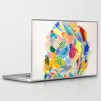 katamari Laptop & iPad Skins featuring It's like a fucking awesome incredible dream by Marcelo Romero