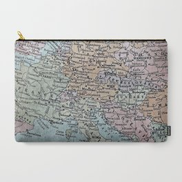 old map of Europe Carry-All Pouch