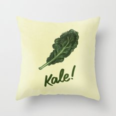 Kale! Throw Pillow