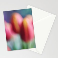 Abstract Tulips Stationery Cards