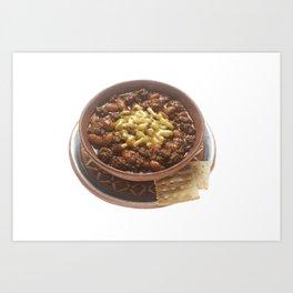 Bowl of Chili Art Print
