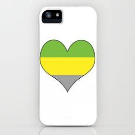 Lithromantic Heart iPhone Case
