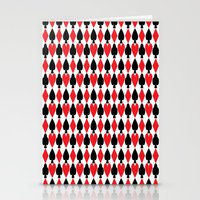 suits Stationery Cards featuring French Suits by Jennifer Agu