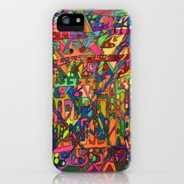 A Lecture in Color iPhone Case