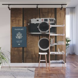Have Passport, Have Coffee, Will Travel Wall Mural