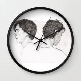 Isak and Even | Du er ikke alene Wall Clock