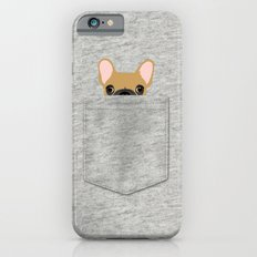 Pocket French Bulldog - Fawn Slim Case iPhone 6