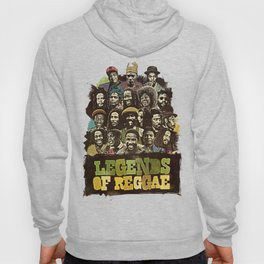 Legends of Reggae Poster Hoody
